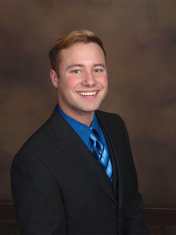 Cody Barnes, Events Coordinator